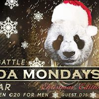 PANDA Mondays THE RNB BATTLEchristmas edition 25dec