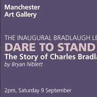 NSS Inaugural Bradlaugh Lecture Dare To Stand Alone
