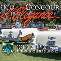39th annual - Chico Concours dElegance car show