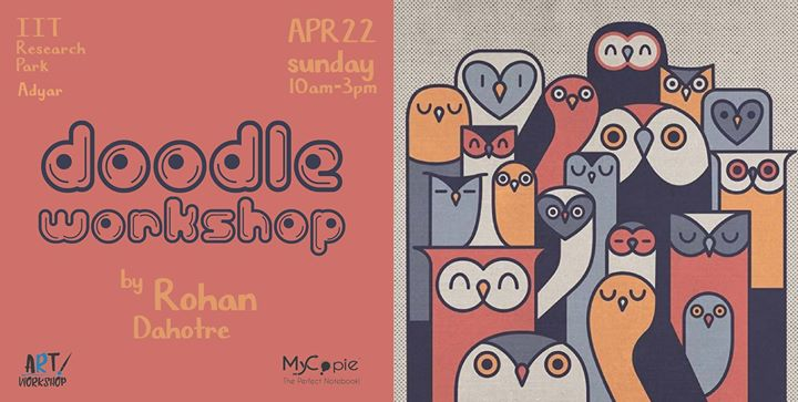 Doodle Workshop by Rohan Dahotre presented by MyCopie