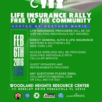 Collab Ent Invites You To Get Coverd &quot Life Insurance Rally&quot