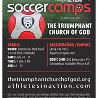 Triumphant Summer Soccer Camp 2017