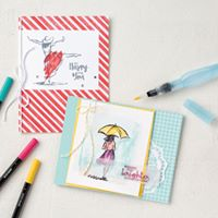 Stampin DS Morning Cards and Coffee Class