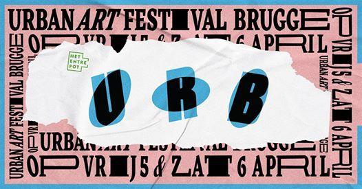 URB 2019 - Urban Art Festival Brugge