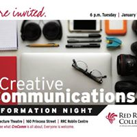 Creative Communications Info Night
