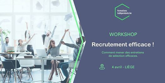 Workshop Mener des entretiens de recrutement efficaces