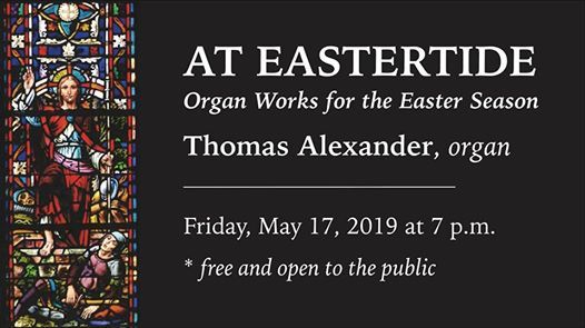 At Eastertide Organ Works for the Easter Season