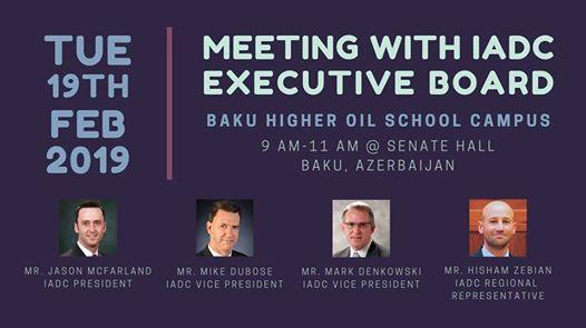 Meeting with IADC Executive Board Members