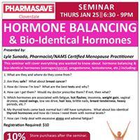 Hormone Balancing Seminar