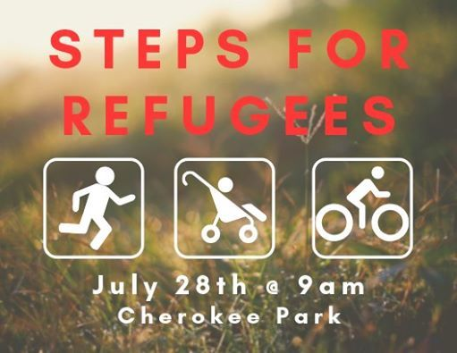 Take a Step for Refugees Walk Run Ride and Worship