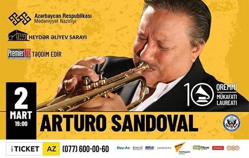 Arturo Sandoval Heydr liyev Saraynda