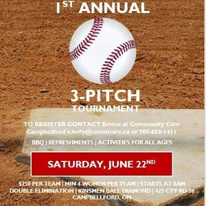 1st Annual Caring for Our Community One Pitch at a Time