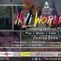 HoliWorld Lakeside Camping Festival17- Pune