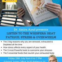 Coffee talk with Dr. Amira Ayad
