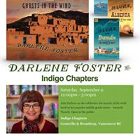 Meet the author from 12 to 3 pm