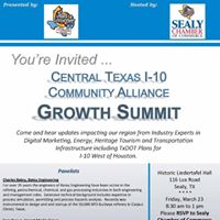 Central Texas I-10 Community Alliance Growth Summit