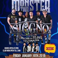 Siggno Monster Tour 2018 in Mathis Texas