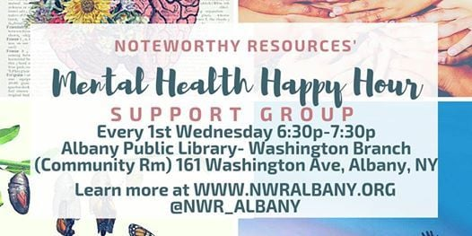 Mental Health Happy Hour Support Group