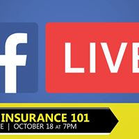 Facebook LIVE Health Insurance 101