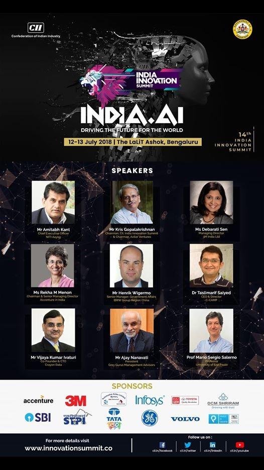 14th India Innovation Summit 2018