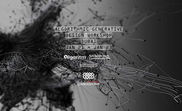 Algorithmic Generative Design Workshop Dubai