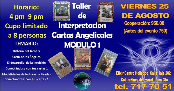 Taller De Interpretacion Cartas Angelicales Modulo 1 At