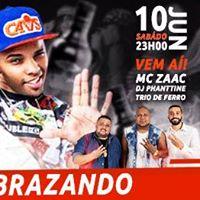 10.06 Vai Embrazando com MC ZAAC - Arena Santa Rosa