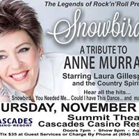 Snowbird - Tributte to Anne Murray