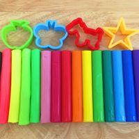 Rainbow Play-Dough Party 2.0