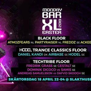 Monday bar Easter XL