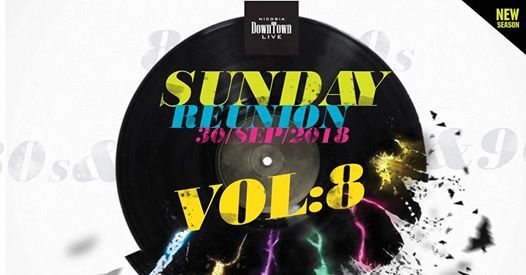 Nicosia Sunday reunion 80s&90s Disco party Vol.8