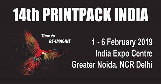 14th Printpack India at India Expo Mart Greater NoidaIndia Expo Mart