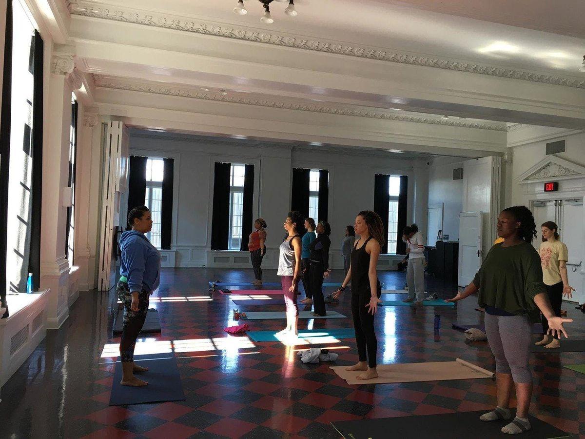 Yoga with YogaRoots On Location