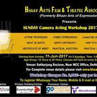 Sunday Camera Acting Workshop 2017 Batch-3