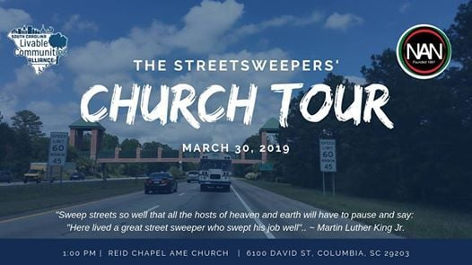 Street Sweepers Church Tour