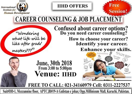 Career Counseling & Job Placement (Free Session) at International