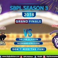 GRAND Finale of SBPL Season 3