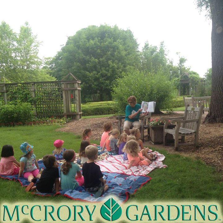 Books in Bloom at McCrory Gardens, Brookings