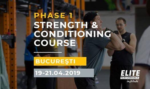 Phase 1 S&C Course - Bucharest