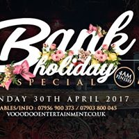 Bank Holiday Sunday Special Sunday 30th April  Gilgamesh