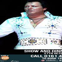 Elvis Tribute Show and Dinner - G Casino Stockport