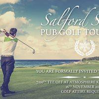 Salford Snow - PUB GOLF