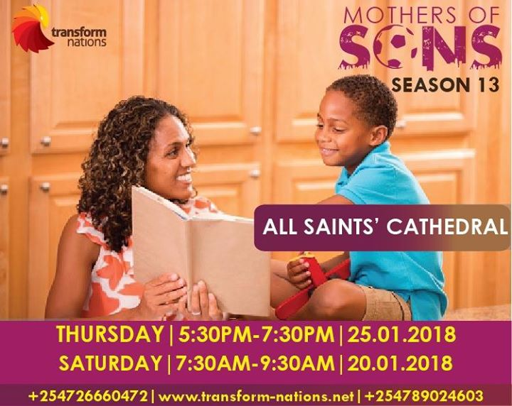Mothers Of Sons Season 13 Saturday Class