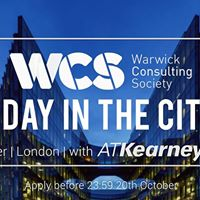 A Day in the City with ATKearney and PwC