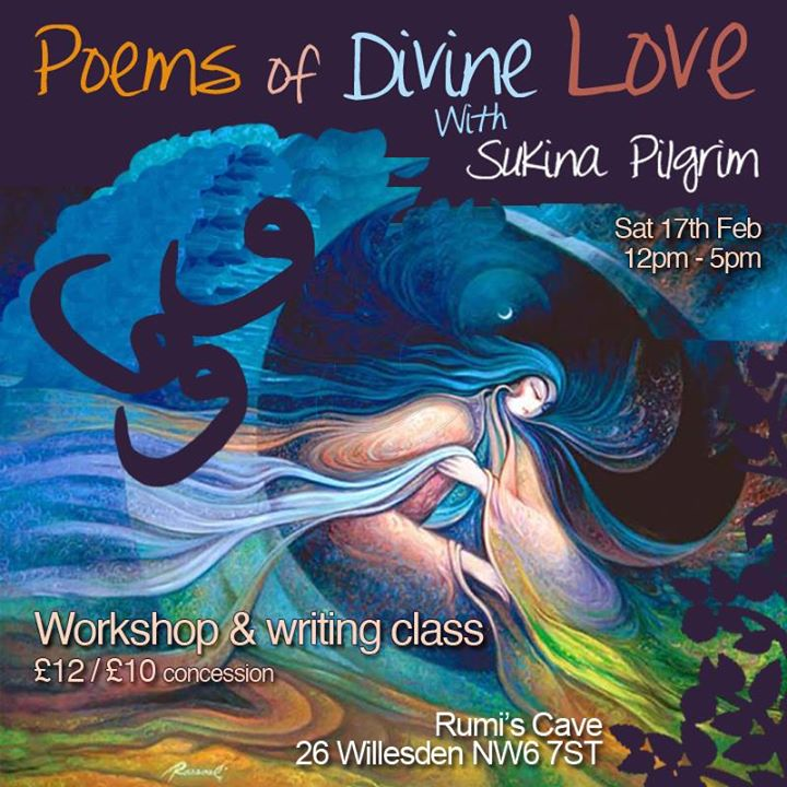 Poetry Workshop Divine Love with Sukina Pilgrim