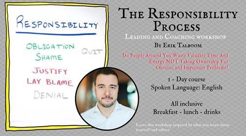 The Responsibility Process - Leading and Coaching workshop