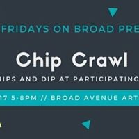 First Friday Chip Crawl on Broad