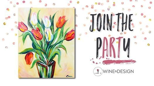Paint Sip Tulips At Wine Design Southern Pines Nc220 W