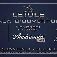 Gala dOuverture Restaurant Discothque by LEtoile