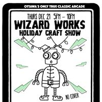 House of TARG Wizard Holiday CRAFT SHOW